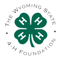 The Wyoming State 4-H Foundation Logo